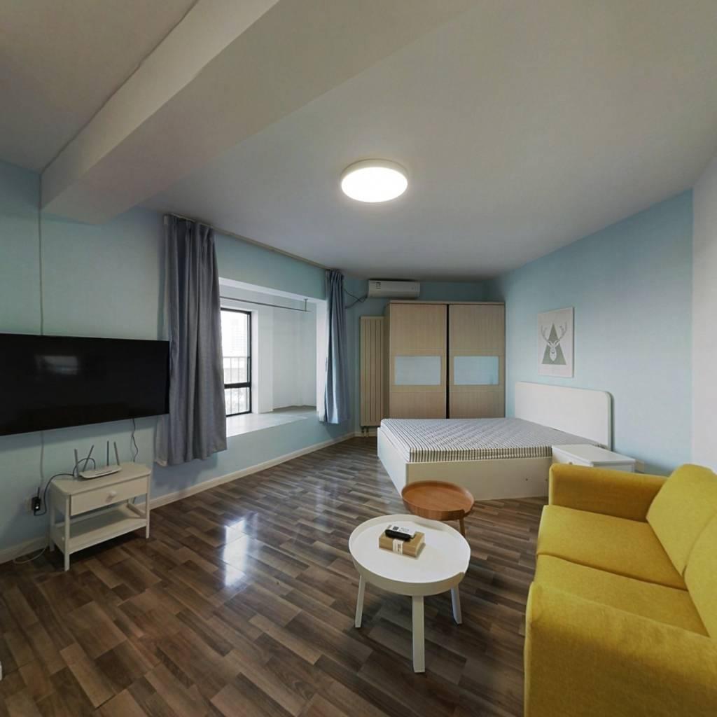 整租·10AM新坐标 1室1厅 北卧室图