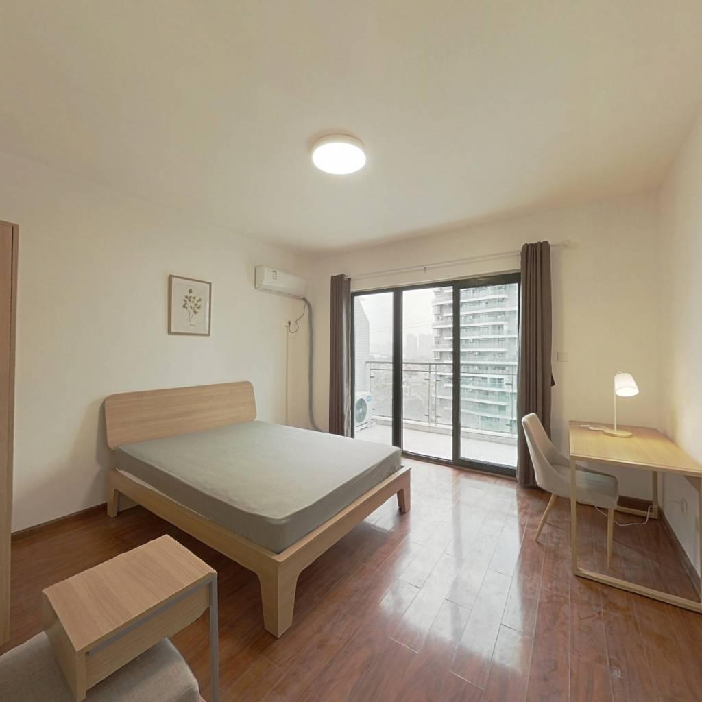 合租·领馆区1号 4室1厅 西南卧室图
