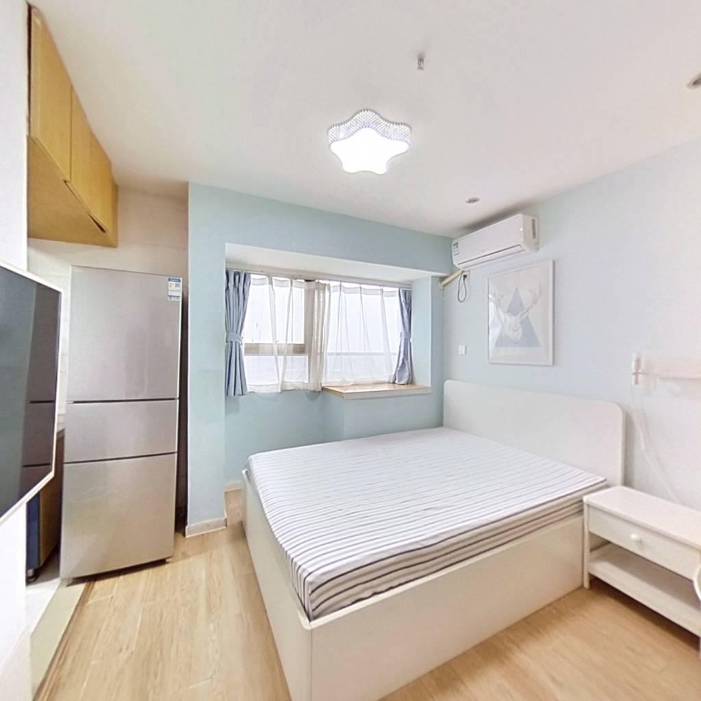 整租·御湖国际 1室1厅 北卧室图