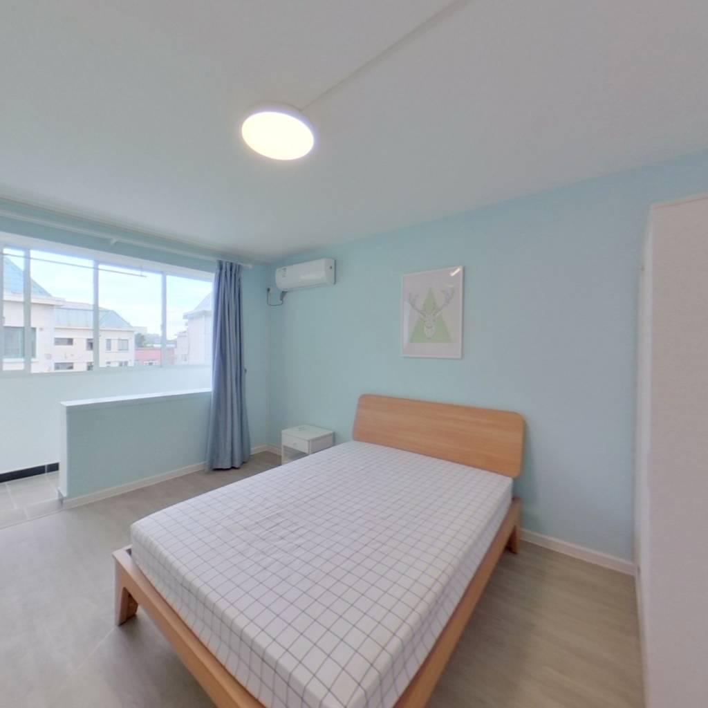 整租·济阳三村 1室1厅 卧室图