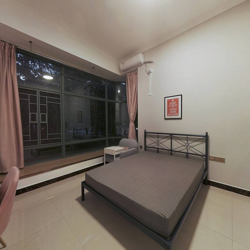 合租·广州雅居乐花园剑桥郡 4室1厅 北卧室图