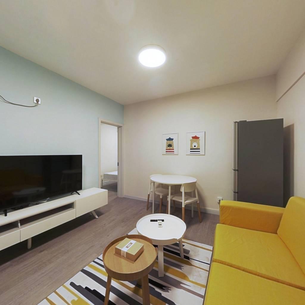 整租·新城市广场 1室1厅 东南卧室图
