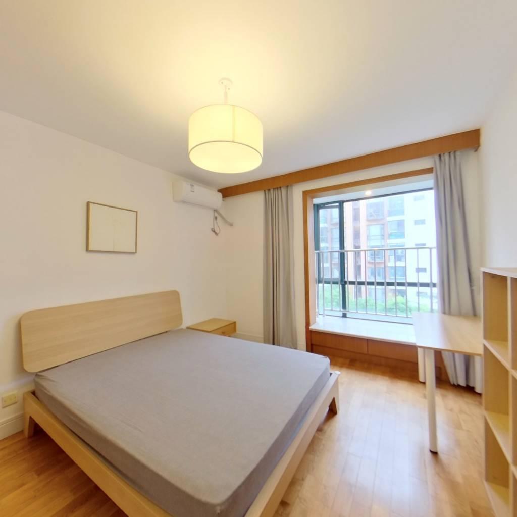 整租·龙柏香榭苑 2室1厅 南卧室图
