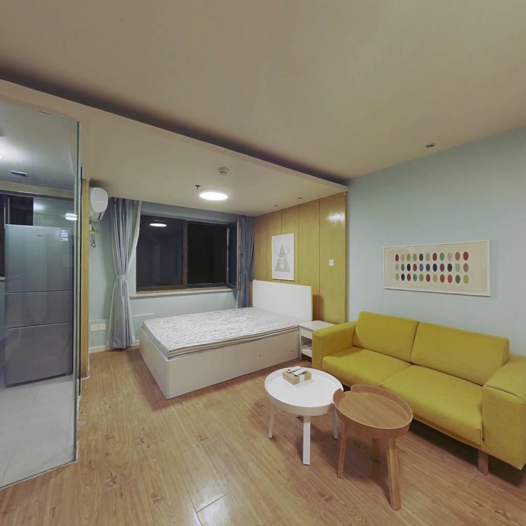 整租·诚基经贸中心 1室1厅 北卧室图