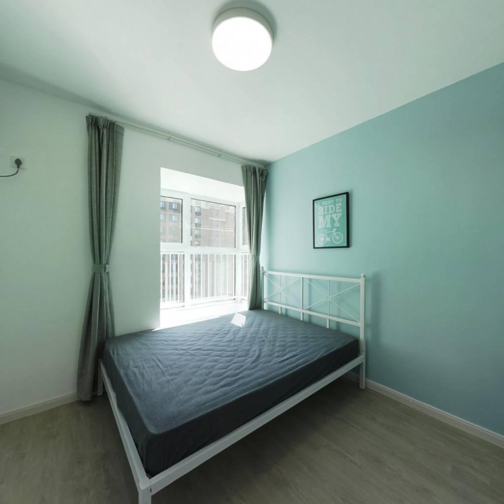 合租·保利金融街诺丁山 3室1厅 北卧室图