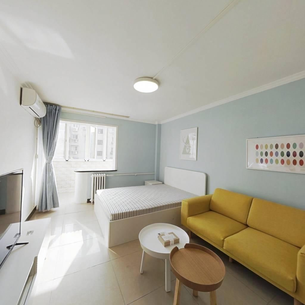 整租·花家地南里 2室1厅 南北卧室图