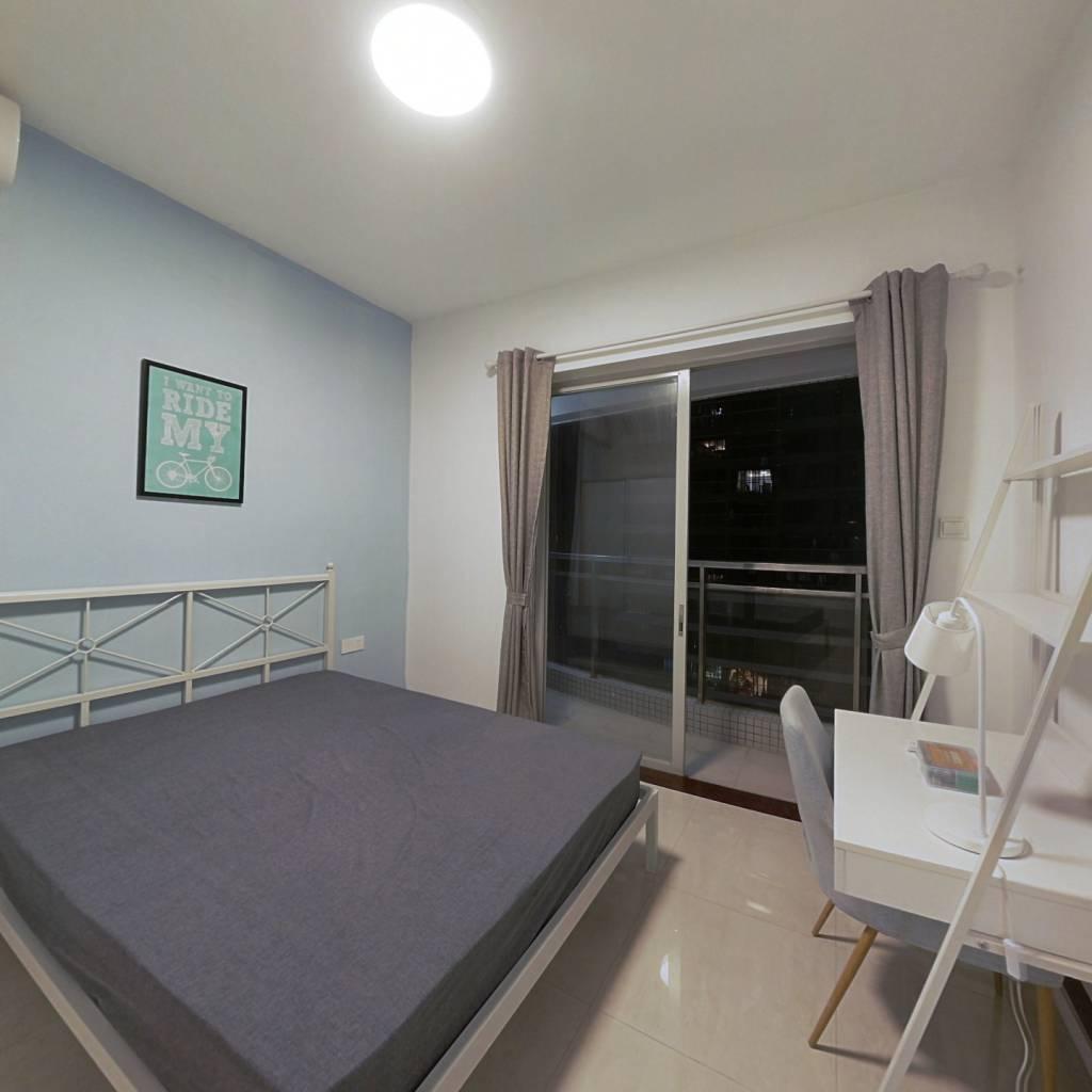 合租·利雅湾 4室1厅 北卧室图