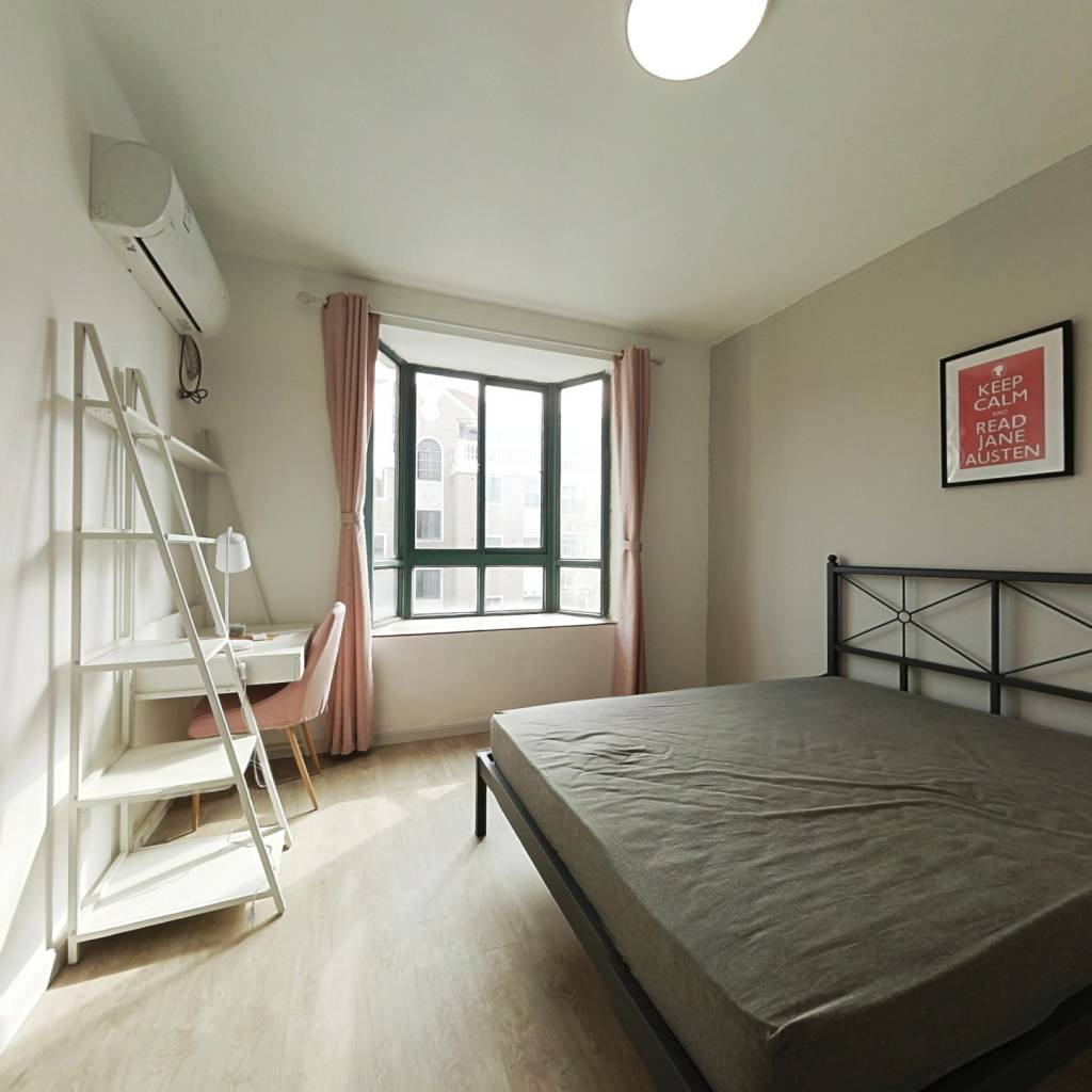 合租·复泰华庭 4室1厅 南卧室图