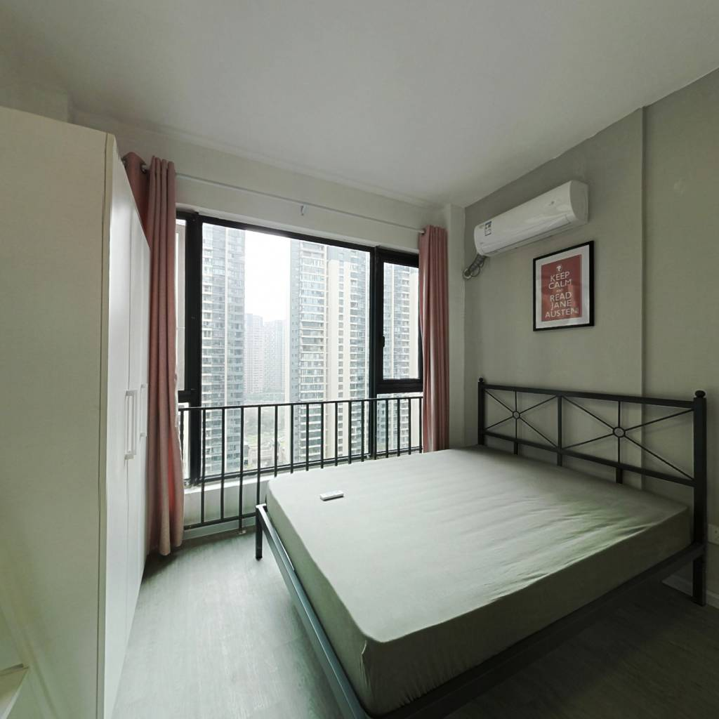 合租·建发鹭洲国际 5室1厅 西卧室图