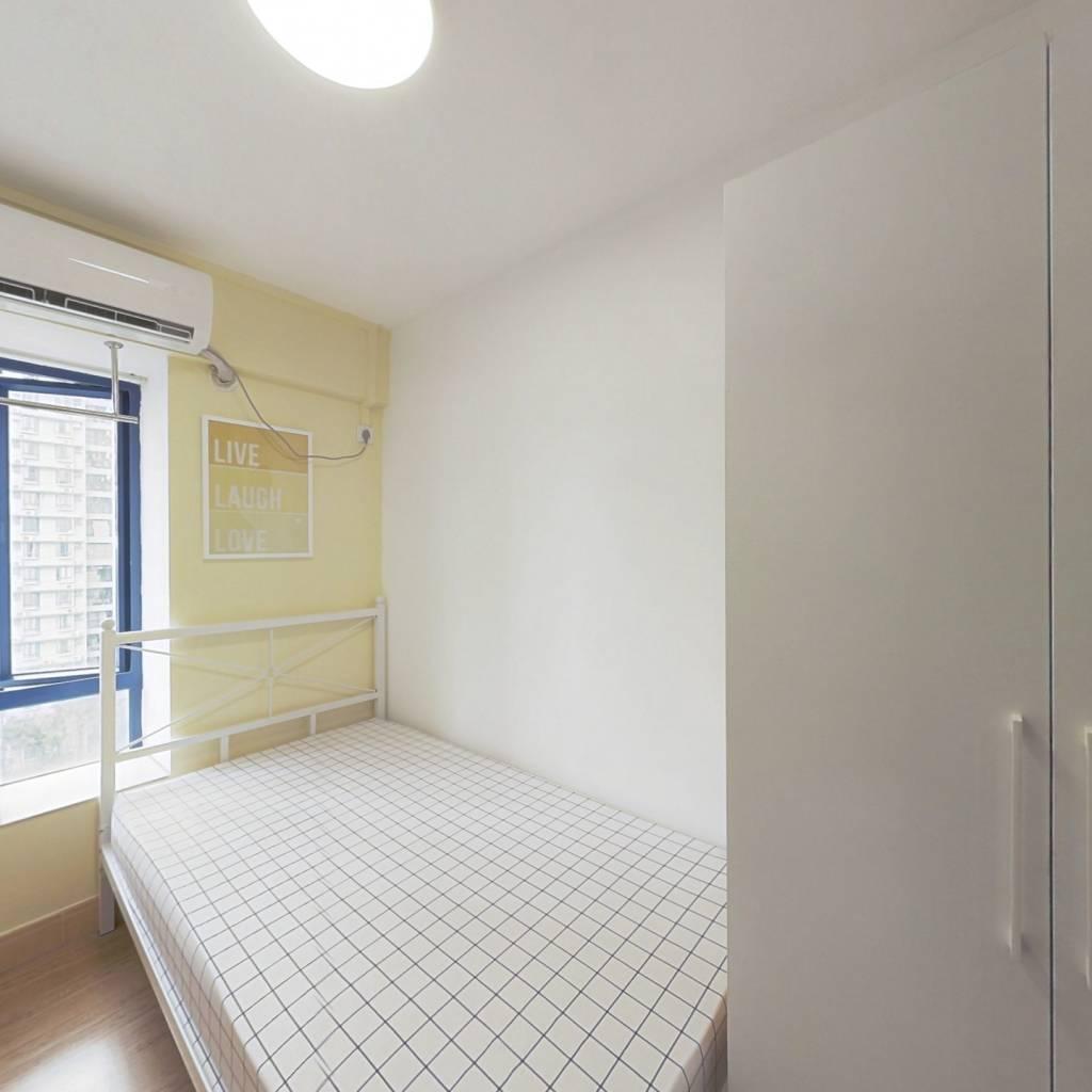 合租·东浚荔景苑 4室1厅 西卧室图