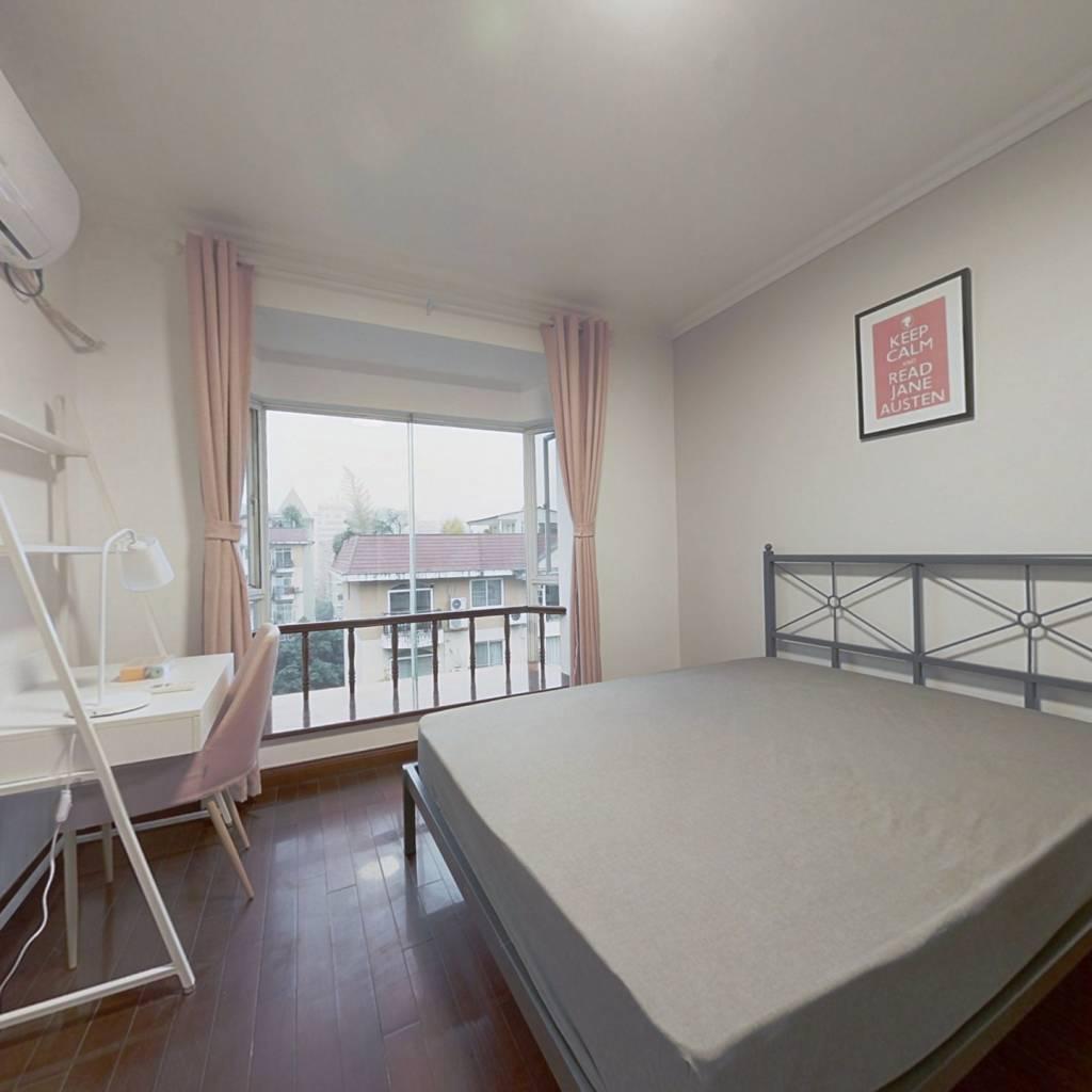 合租·名人苑 4室1厅 北卧室图