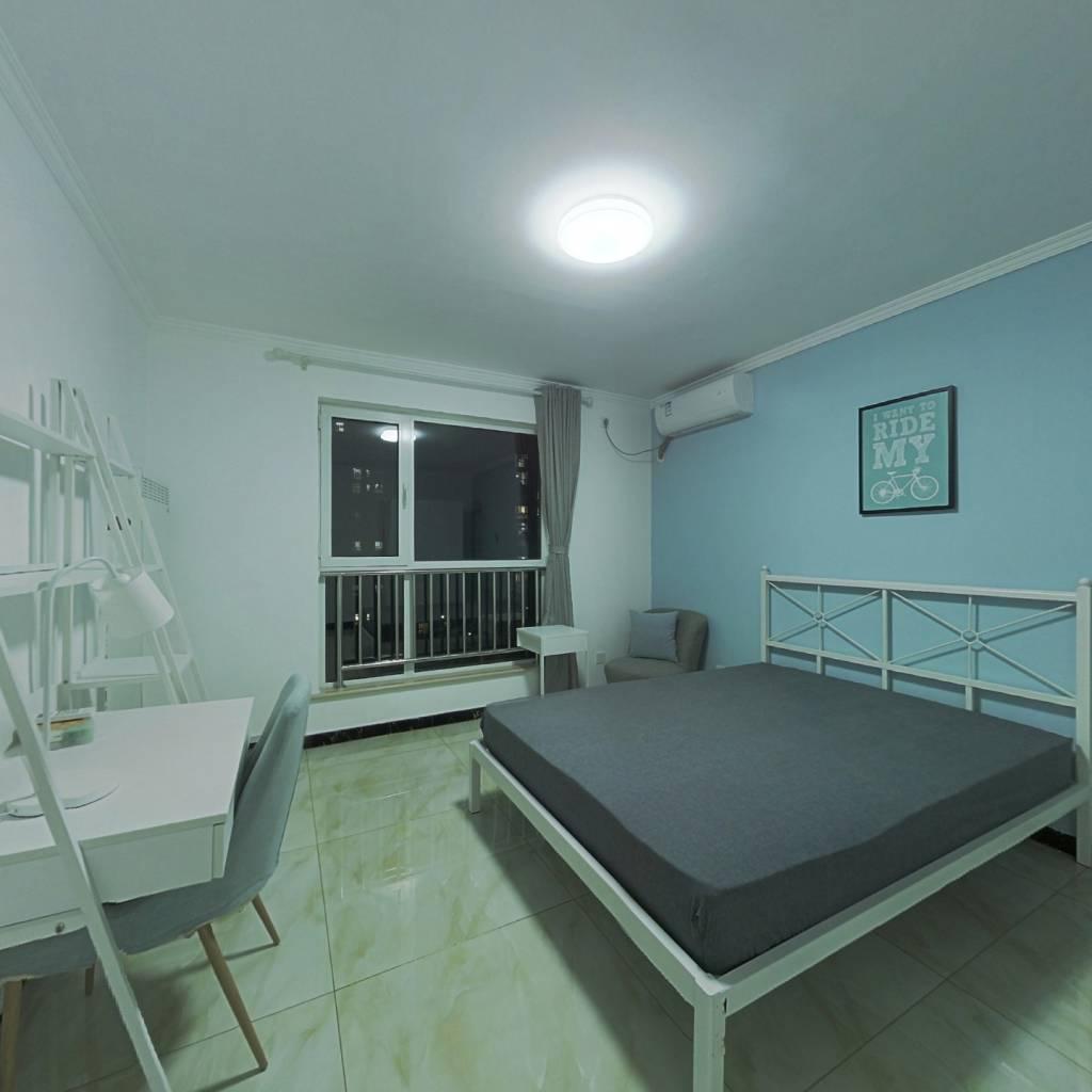 合租·七燕路1号院 3室1厅 南卧室图