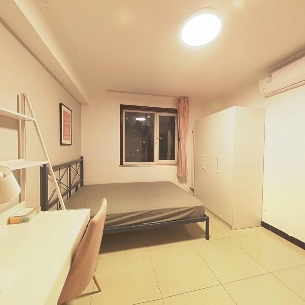 合租·三环新城8号院 3室1厅 东南卧室图