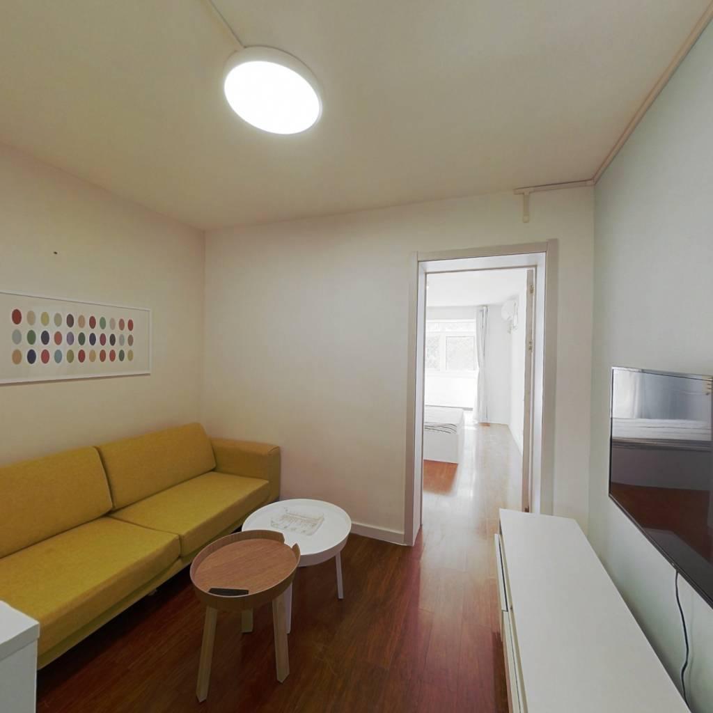 整租·八里庄北里小区 2室1厅 南北卧室图