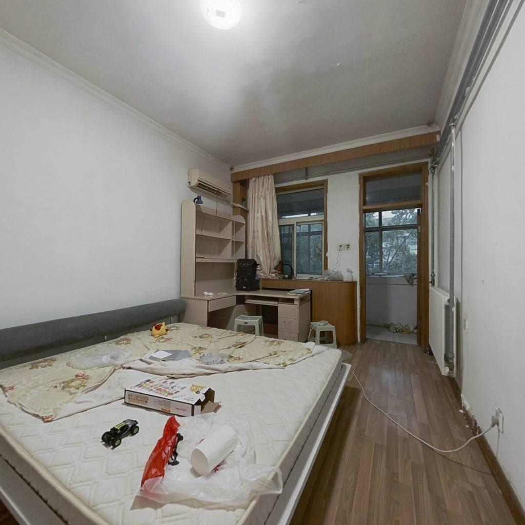 山大南路 地矿局宿舍 楼层高,采光好无遮挡 两室