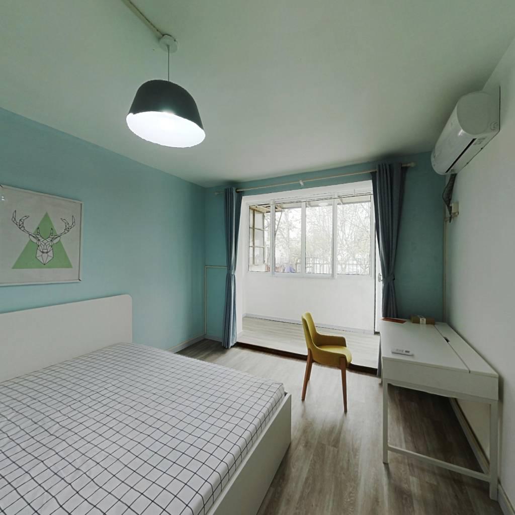 整租·临沂六村 1室1厅 南卧室图