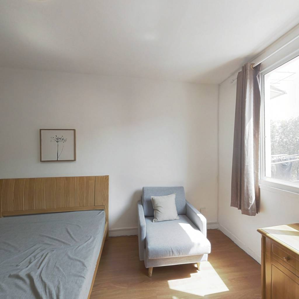 整租·武川路105弄 1室1厅 南卧室图
