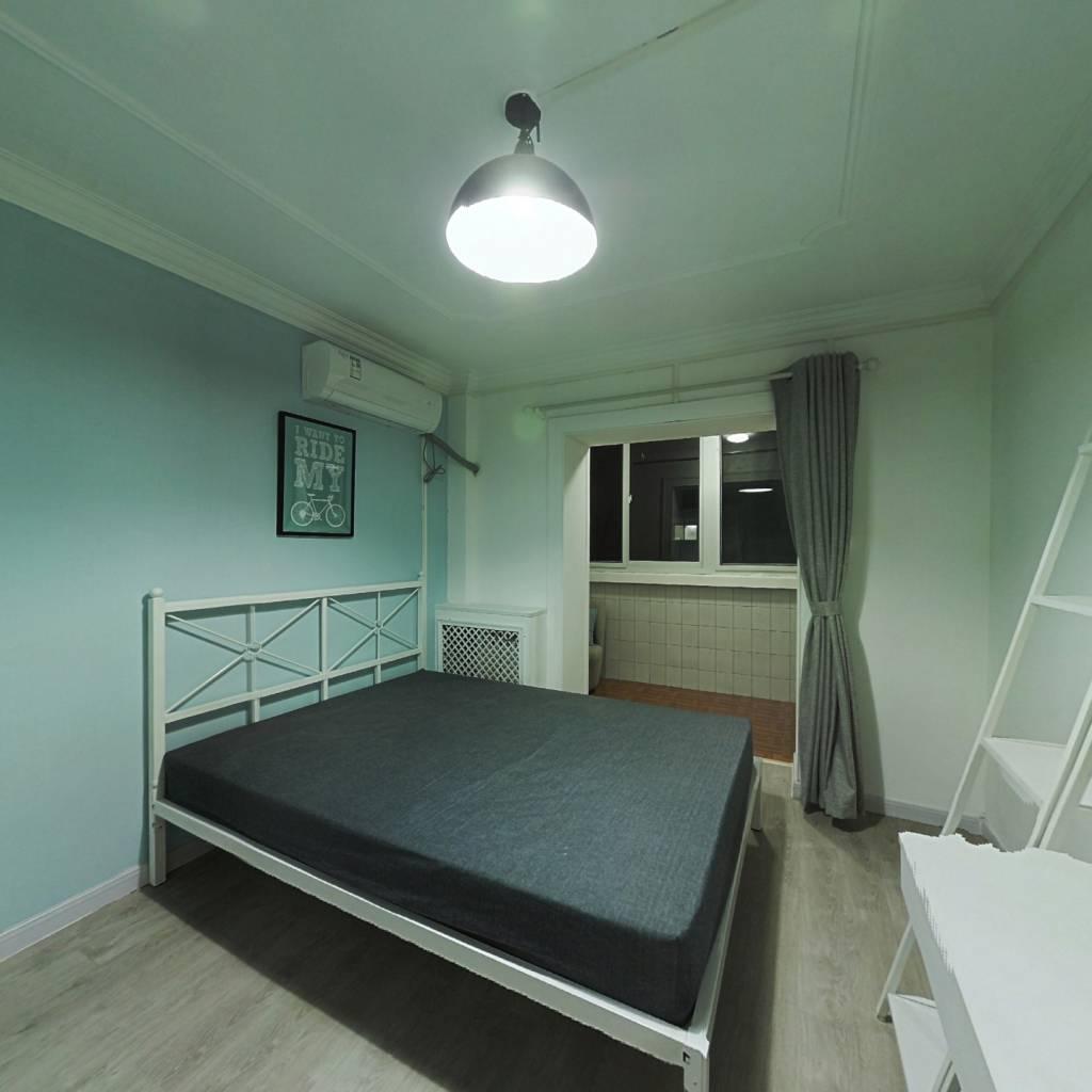 合租·安华里 3室1厅 北卧室图