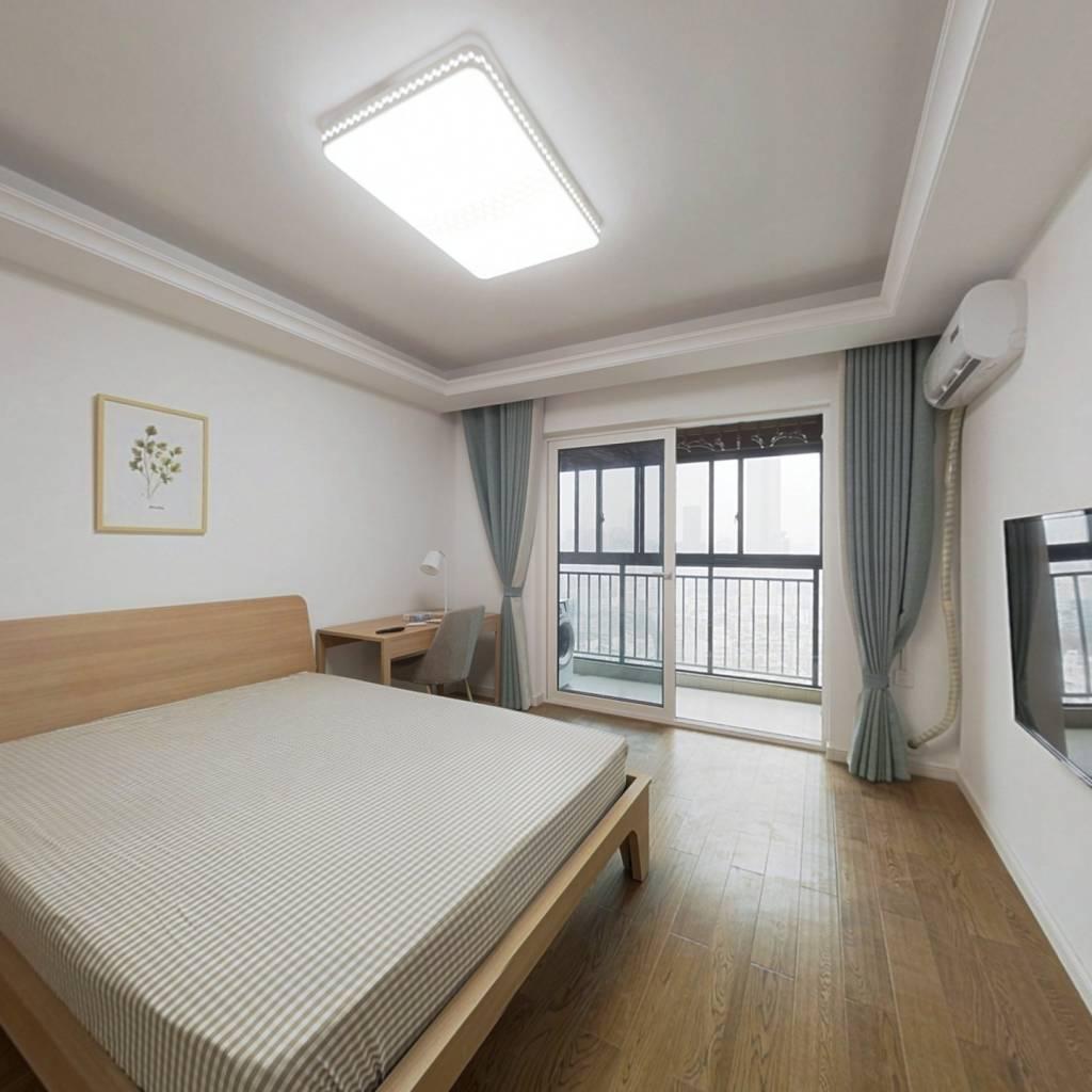 合租·万科金域时代 4室1厅 南卧室图