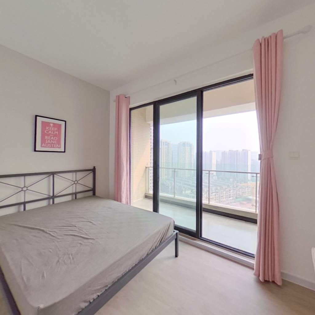 合租·嘉年华国际社区 4室1厅 东南卧室图
