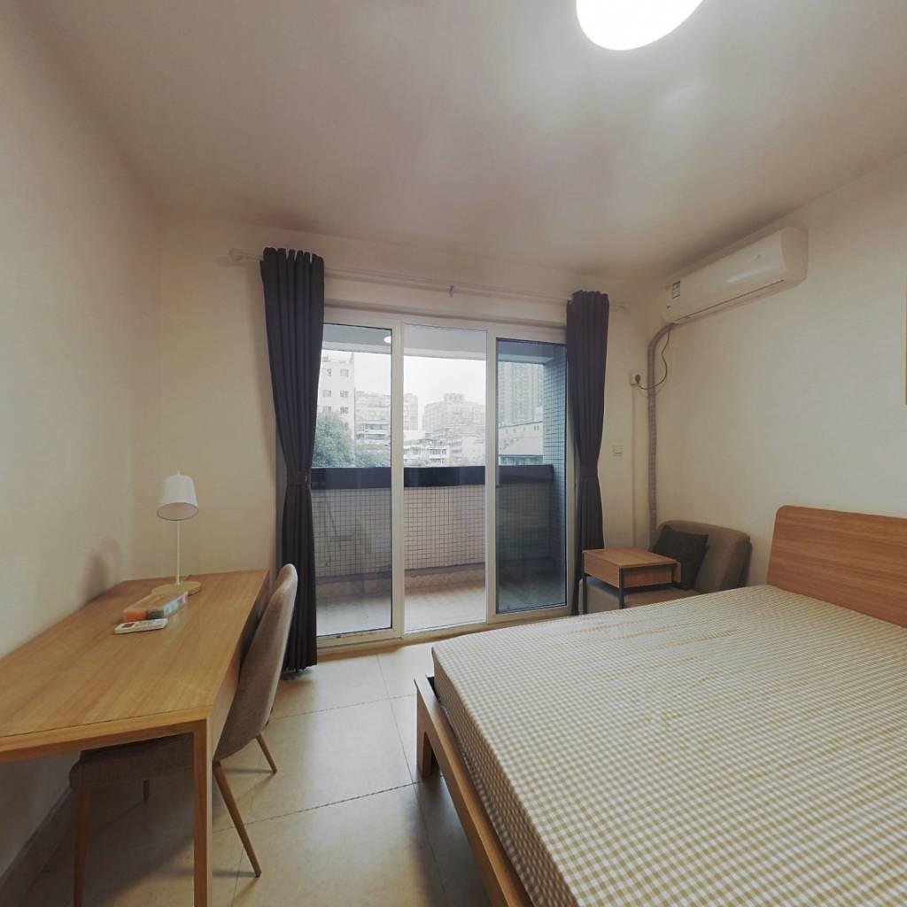 合租·望江华庭 4室1厅 西卧室图