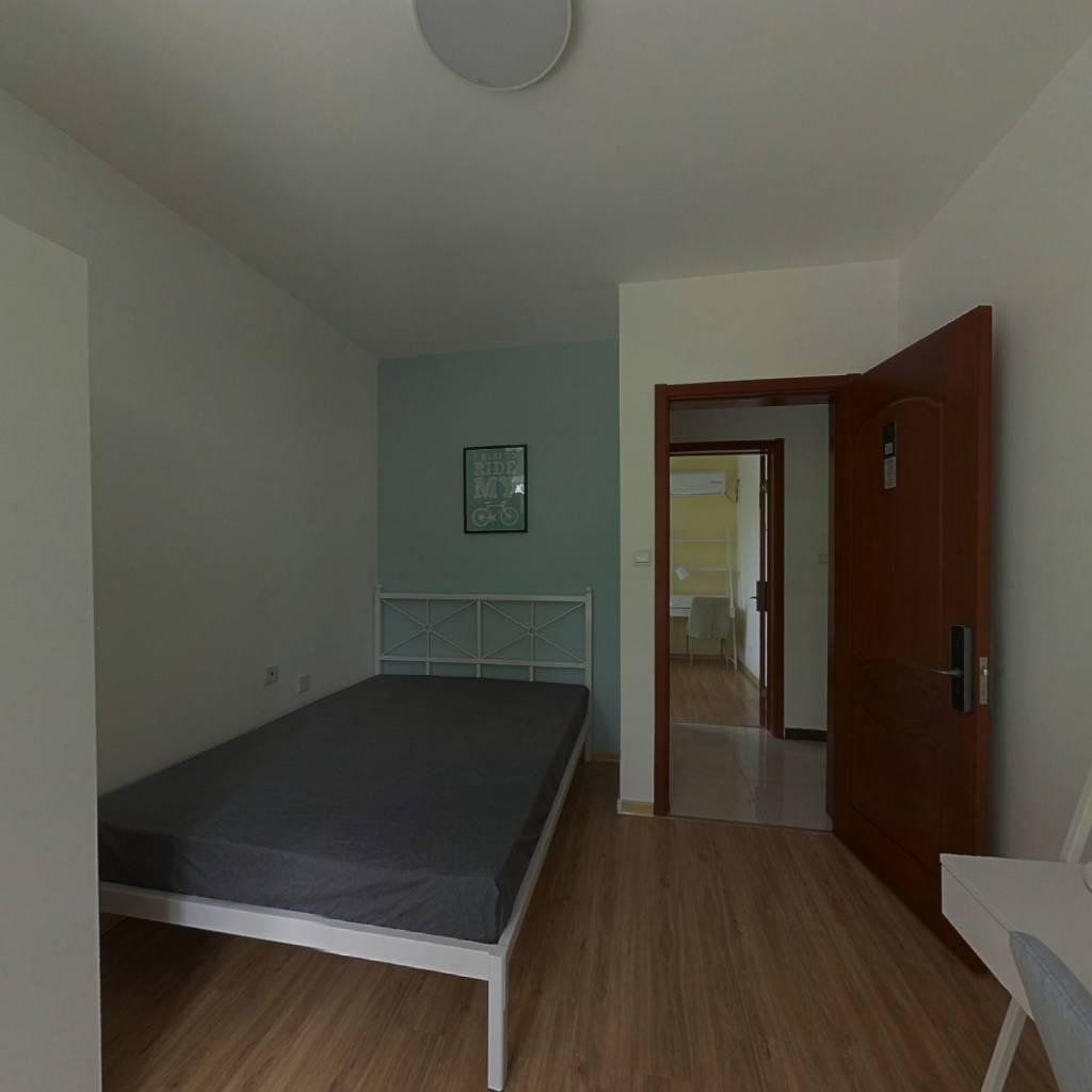 合租·华润中央公园 3室1厅 北卧室图