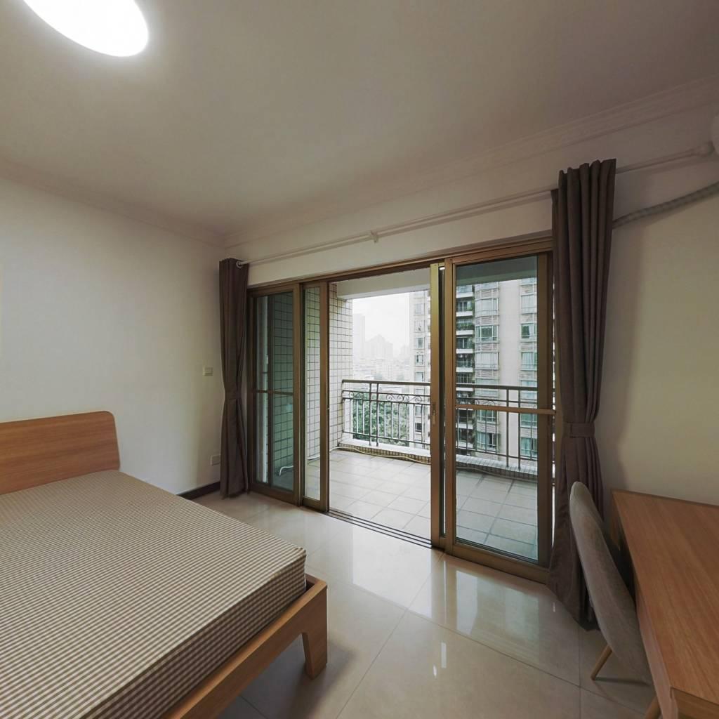 合租·美林海岸花园 4室1厅 北卧室图