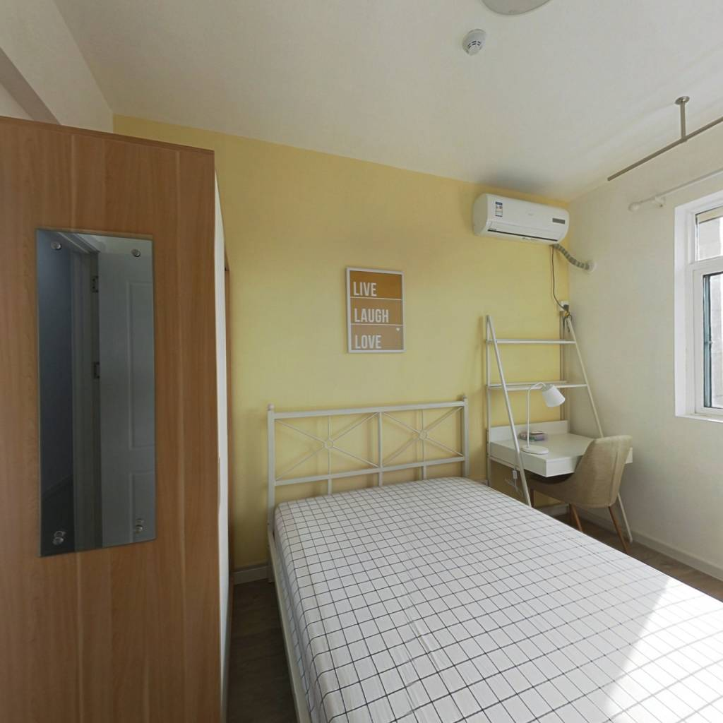 合租·地铁紫阳城 4室1厅 东卧室图