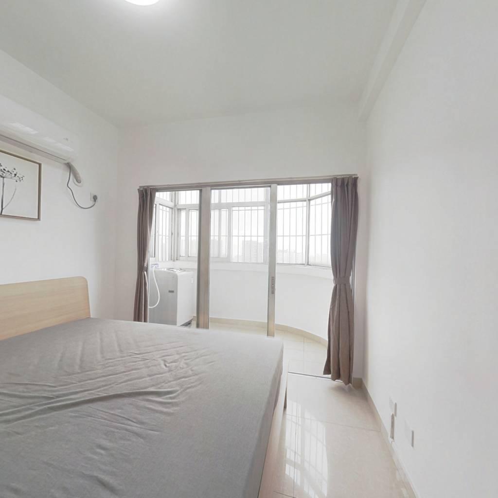 整租·汇福花园 2室1厅 东南卧室图