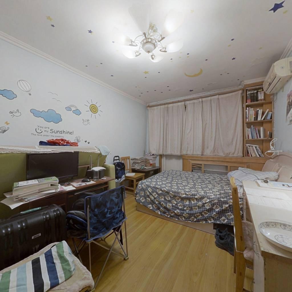 志新村 大客厅一室一厅 板楼中间层 无遮挡