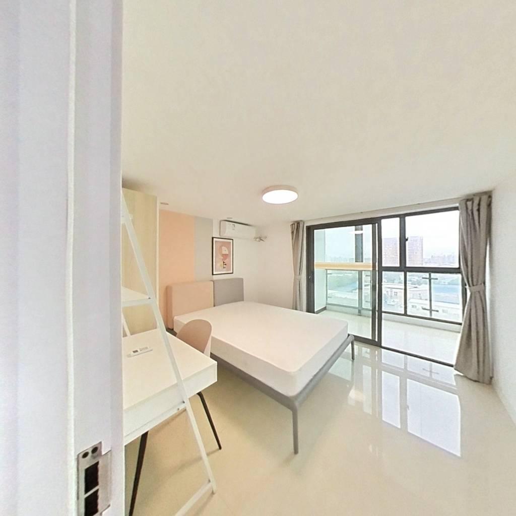 合租·上海青年城 3室1厅 北卧室图