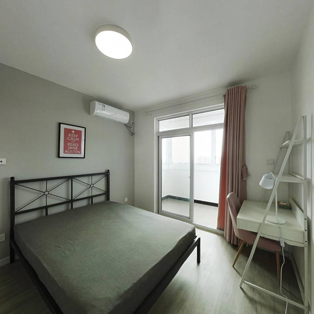合租·美安路628弄 3室1厅 北卧室图