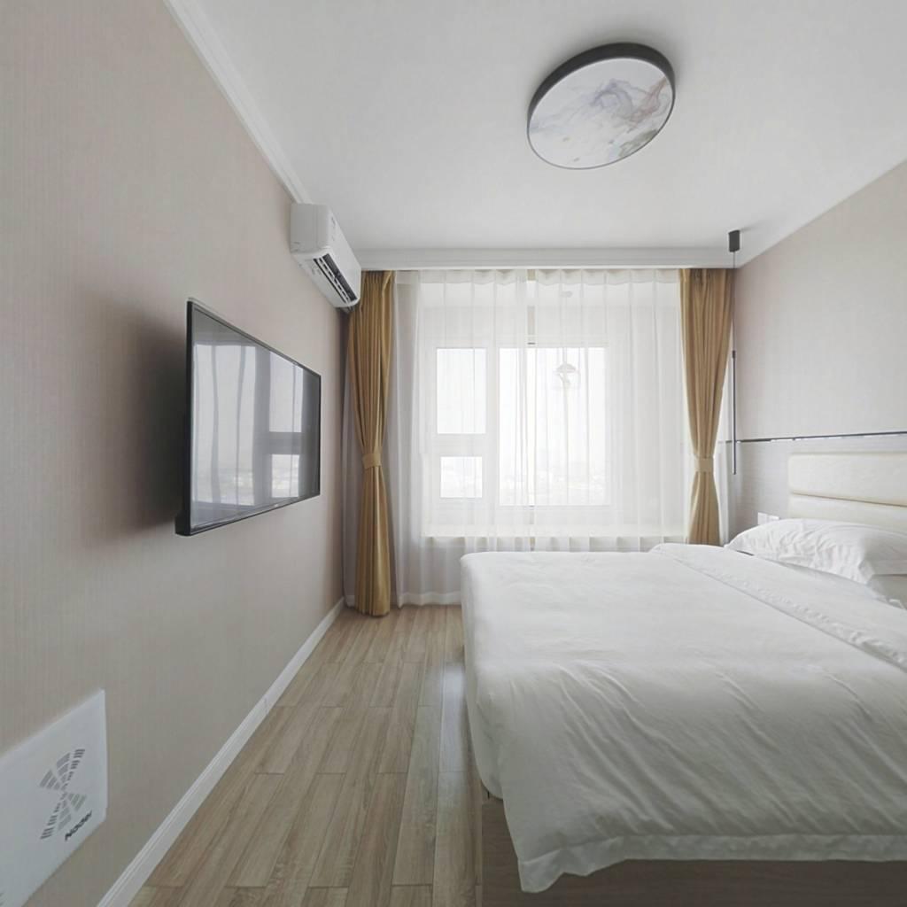 齐鲁软件园商圈精装公寓,低总价,拎包入住