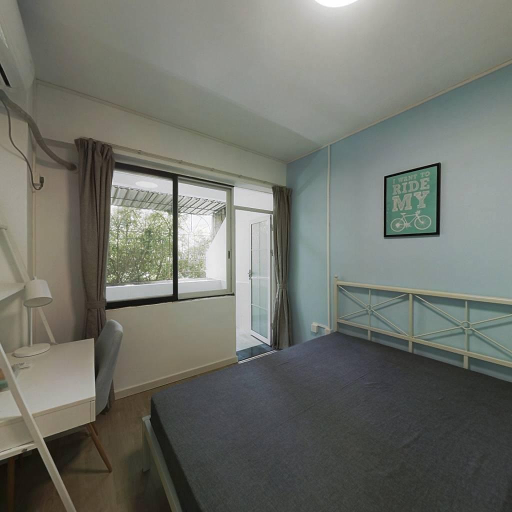 合租·南丽苑 2室1厅 南卧室图