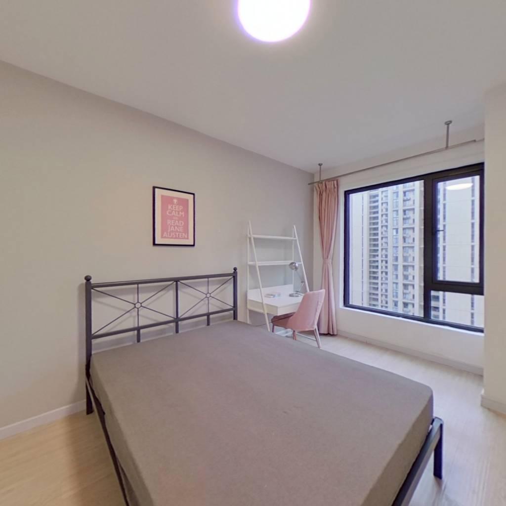 合租·越秀星汇悦城 4室1厅 南卧室图