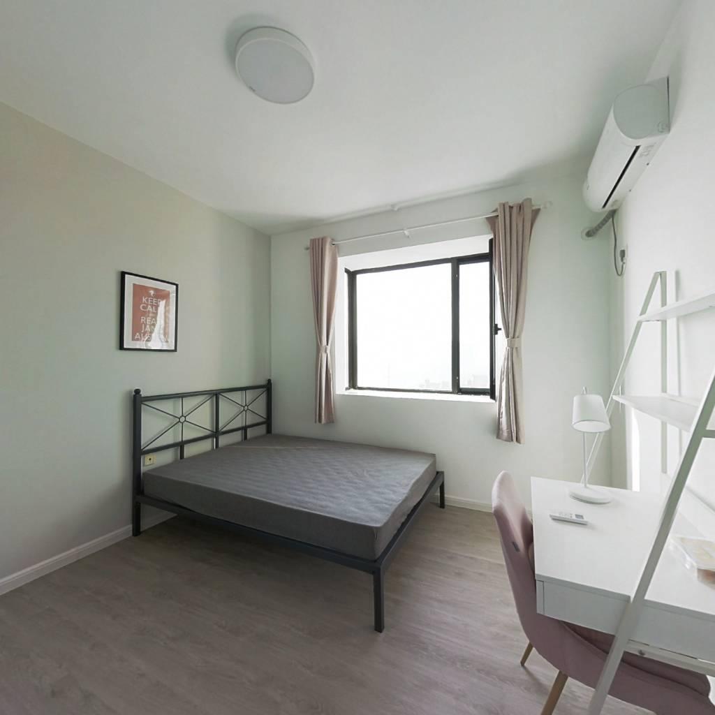 合租·君悦花苑 3室1厅 北卧室图
