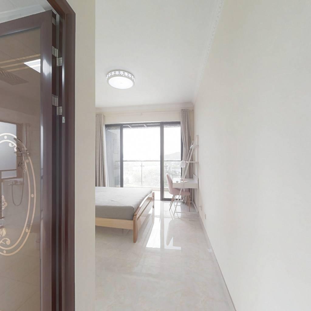 合租·颐安都会中央一期 4室1厅 东南卧室图