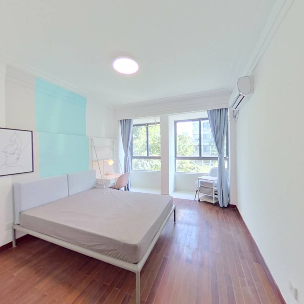 合租·海上硕和城 4室1厅 东卧室图