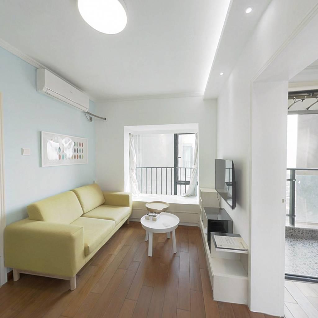 整租·桐林公寓 1室1厅 西北卧室图