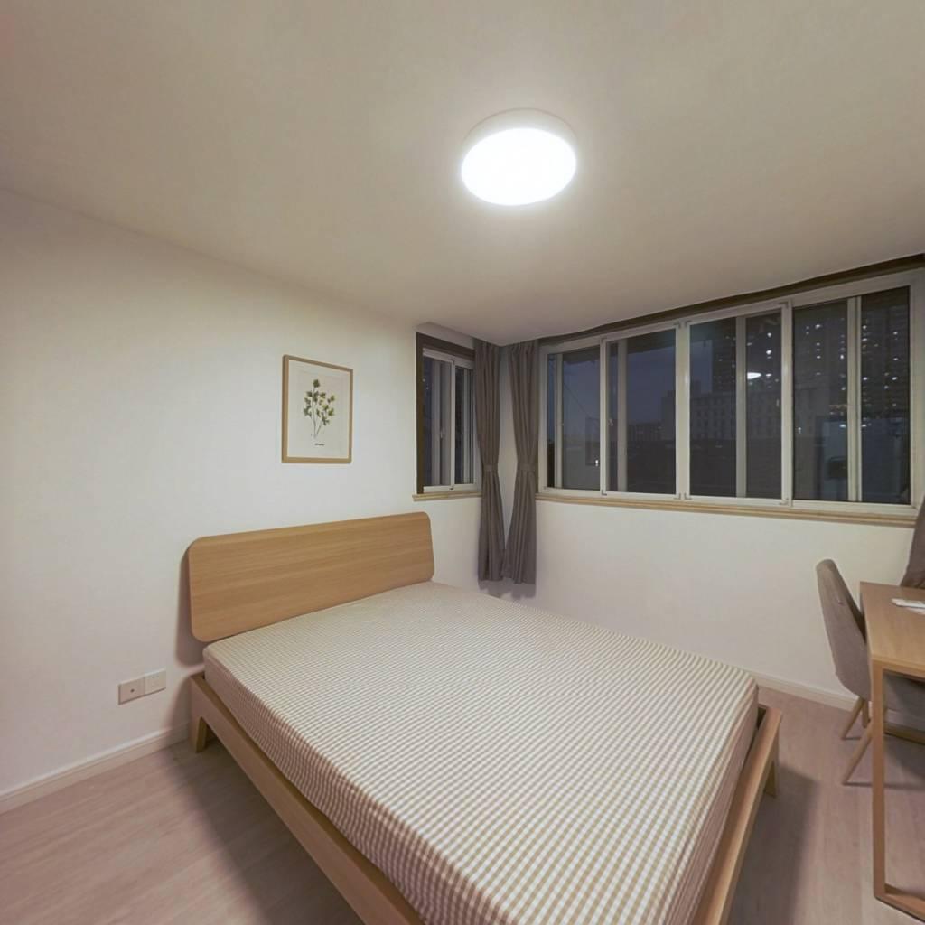 合租·鞍山六村 2室1厅 南卧室图