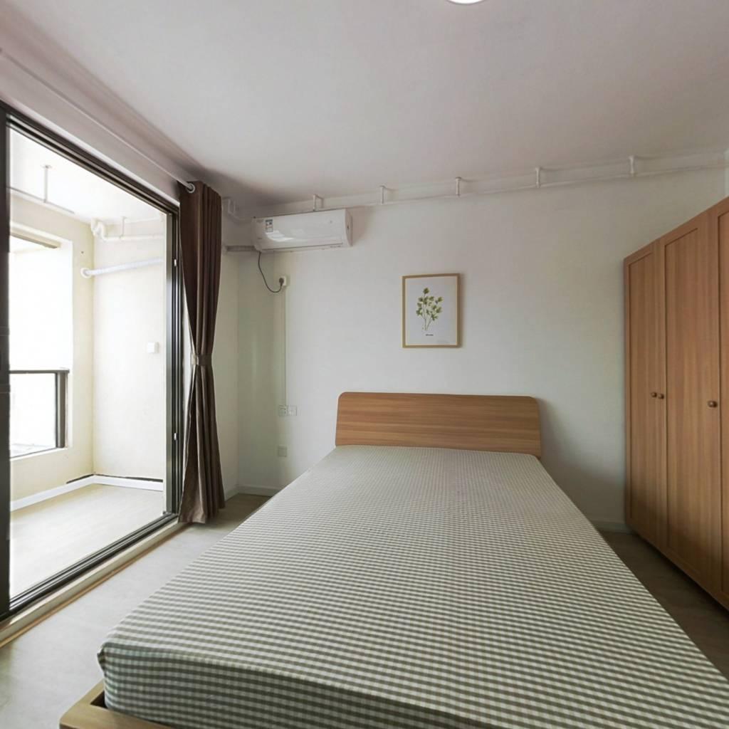 合租·星河天赋 4室1厅 南卧室图