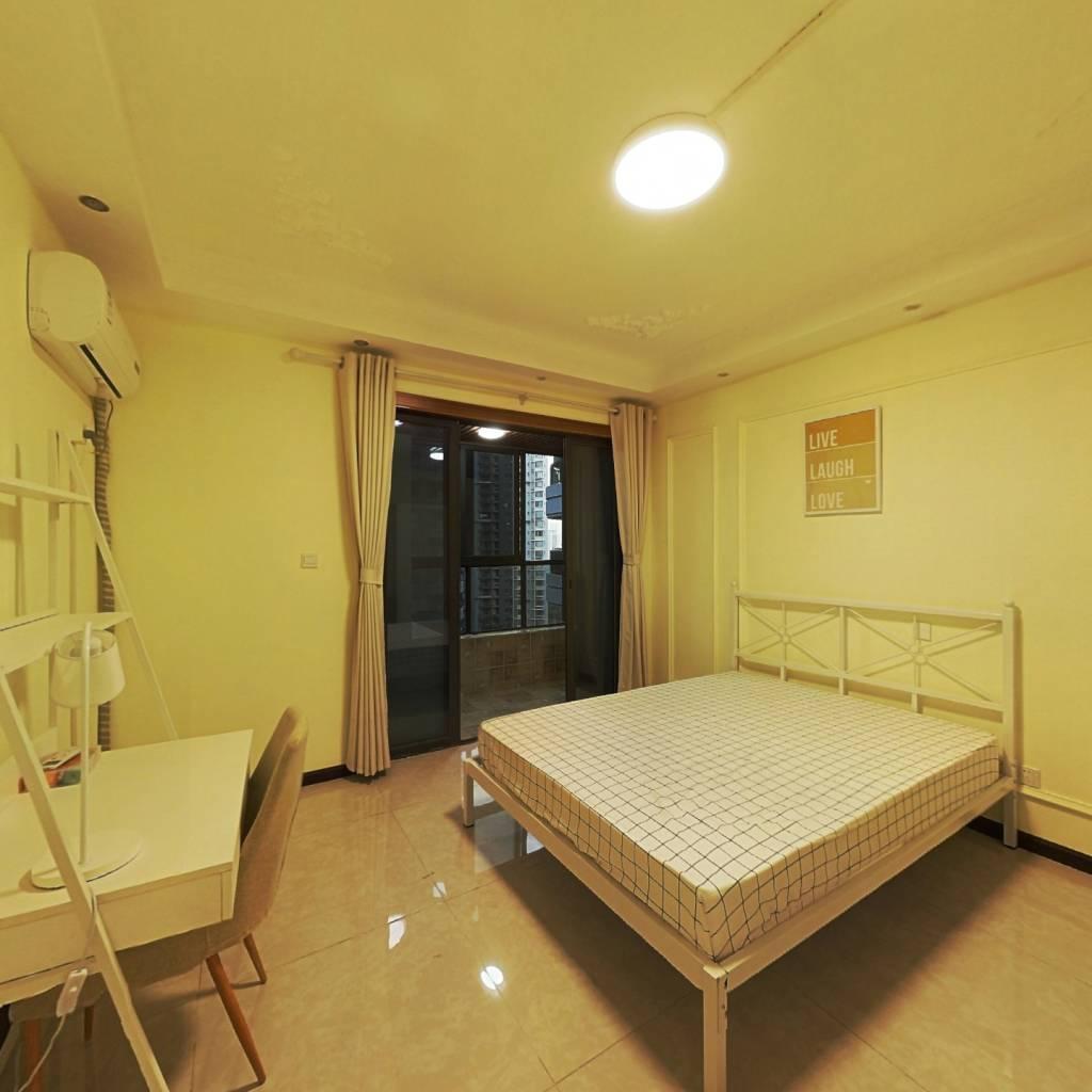 合租·成都玩家 3室1厅 南卧室图