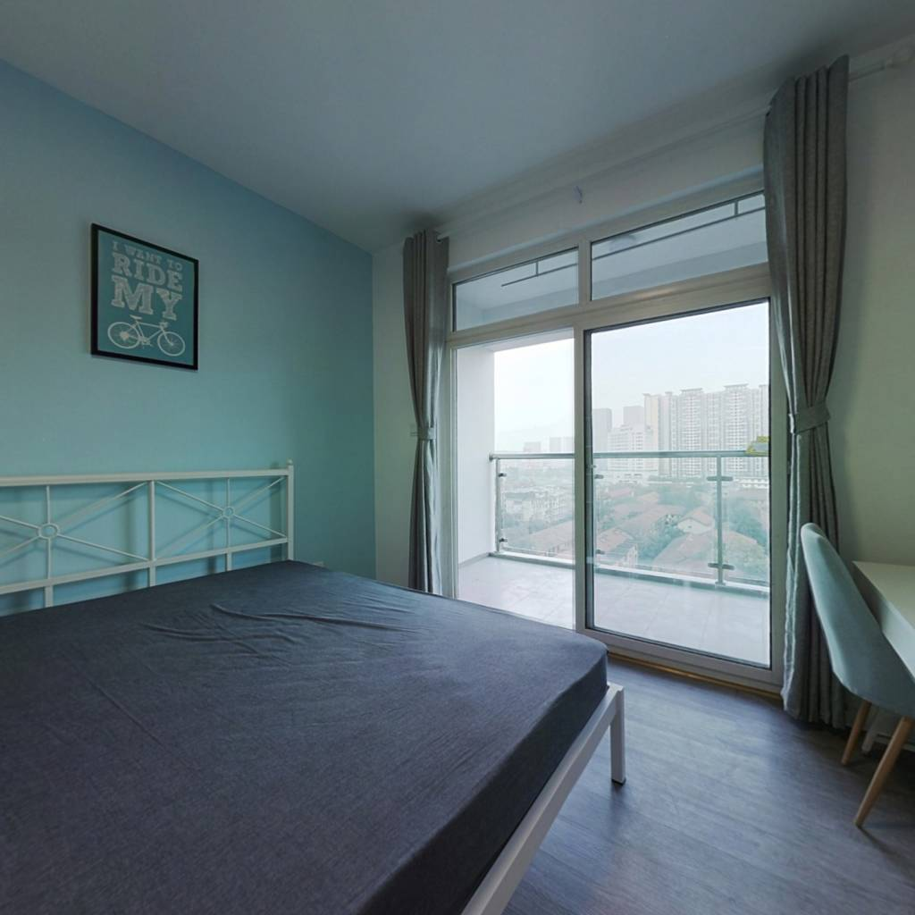 合租·龙门镇 3室1厅 南卧室图