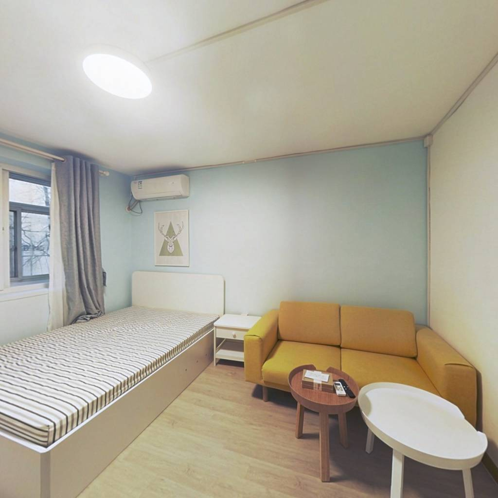 整租·南太平庄北巷 2室1厅 南北卧室图