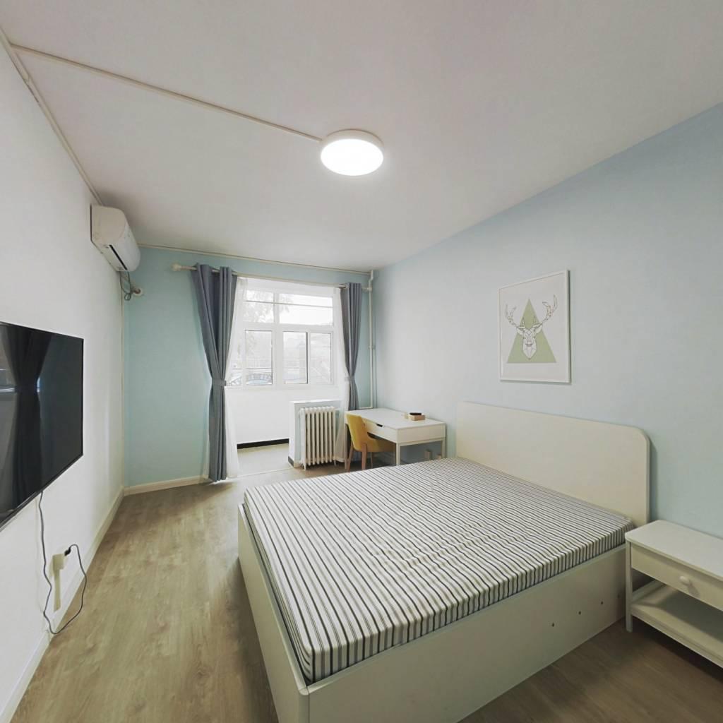 整租·和平街十四区 2室1厅 南北卧室图