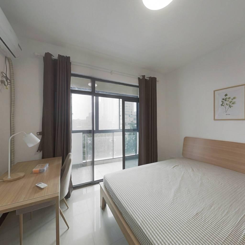合租·未来城 4室1厅 南卧室图