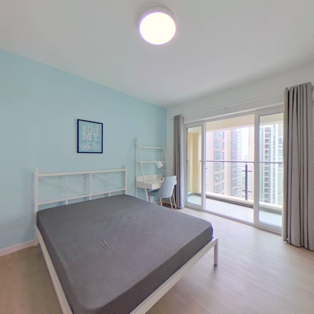 合租·瑞西光华 3室1厅 北卧室图