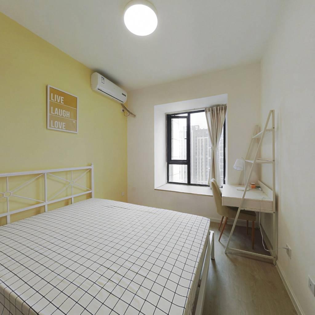 合租·人居盛和林语北区 3室1厅 南卧室图