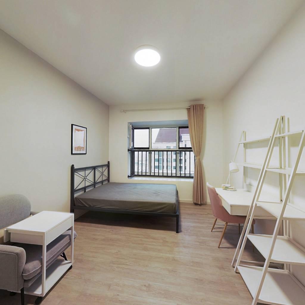合租·路劲太阳城皓林园 4室1厅 北卧室图