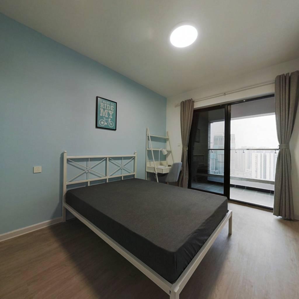 合租·中德英伦联邦C区 5室1厅 北卧室图